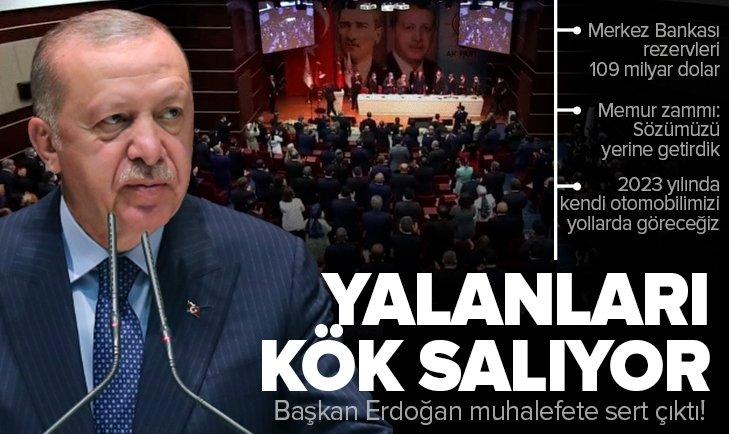 Son dakika: Başkan Erdoğan'dan AK Parti Genişletilmiş İl Başkanları Toplantısında önemli açıklamalar
