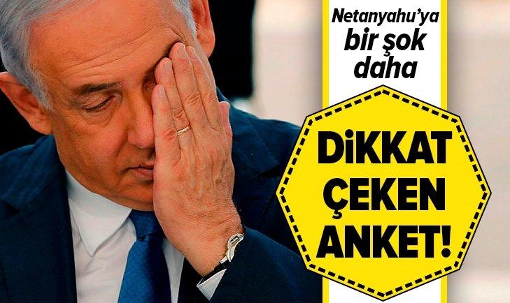 İSRAİL HALKINDAN NETANYAHU'YA KÖTÜ HABER!