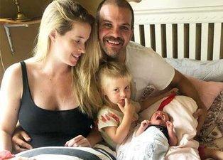 Amerika'ya yerleşen Tolga Karel üçüncü kez baba oldu
