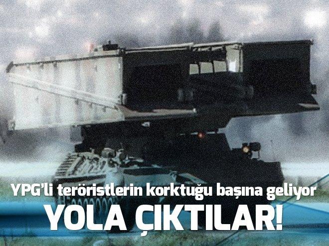 YPG'Lİ TERÖRİSTLERİN KORKTUĞU BAŞINA GELİYOR