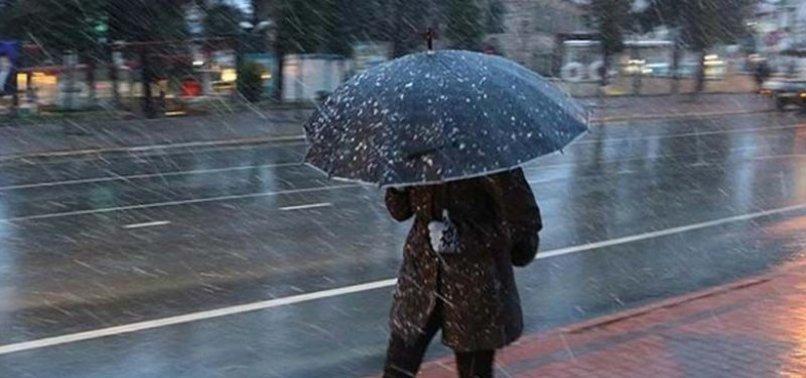 Meteoroloji'den son dakika uyarısı! Sağanak yağışlar geliyor