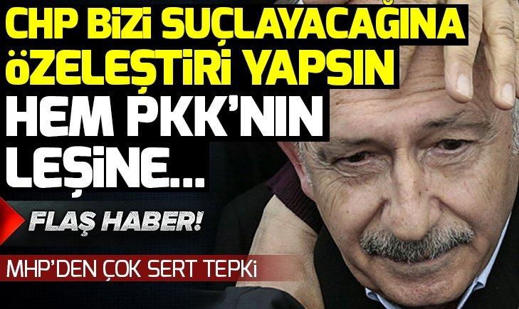 MHP'DEN CHP'YE SERT TEPKİ