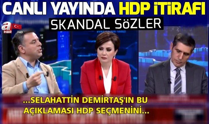 CHP'li Barış Yarkadaş HDP ile ittifakı itiraf etti | Video