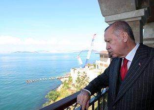 Başkan Recep Tayyip Erdoğan Yassıada'yı ziyaret etti