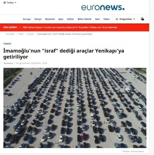 EURONEWS VE HALK TV'DEN BÜYÜK 'YENİKAPI' YALANI!