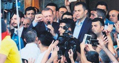 Hain darbe girişimi gecesi Başkan Erdoğan'dan tarihe geçen sözler