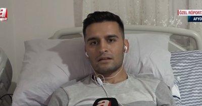 """Silah arkadaşları için bacağını feda eden Gazi Uzman Çavuş Yusuf Yayla'dan A Haber'e flaş açıklamalar: """"Devletimizin büyüklüğünü gördüm! Terör bitecek"""""""