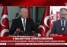 Son dakika... Bahçeli'den flaş kayyum çıkışı: CHP PKK'ya siper olmuş Kandil'in önüne yatmıştır |Video