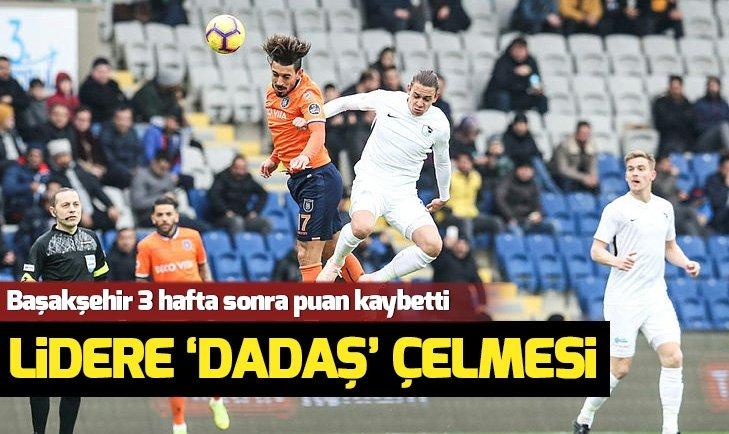 BAŞAKŞEHİR'E ERZURUMSPOR ÇELMESİ!