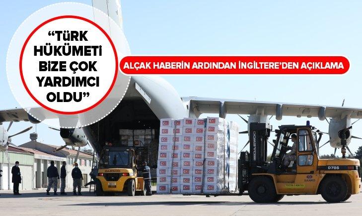 İngiltere hükümetinden Türkiye açıklaması