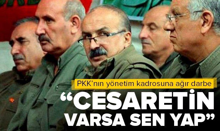 Türk askeri vurdu PKK'yı korku sardı! Cesaretin varsa sen yap