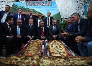 Başkan Erdoğan, Rize Tanıtım Günleri stantlarını tek tek ziyaret etti