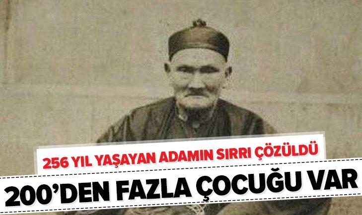 256 YIL YAŞAYAN ADAMIN SIRRI ÇÖZÜLDÜ!