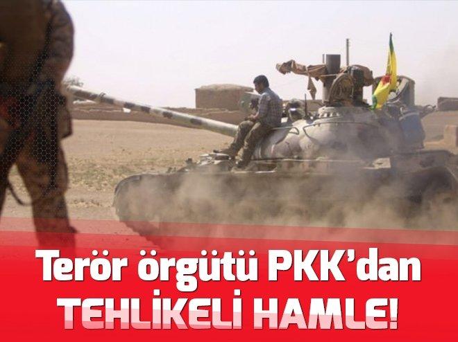 TERÖR ÖRGÜTÜ PKK'DAN MÜNBİÇ'TE TEHLİKELİ ADIM