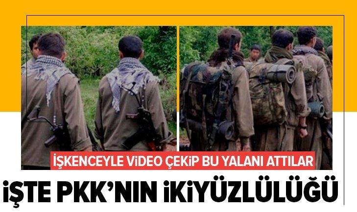 İşte PKK'nın ikiyüzlülüğü!