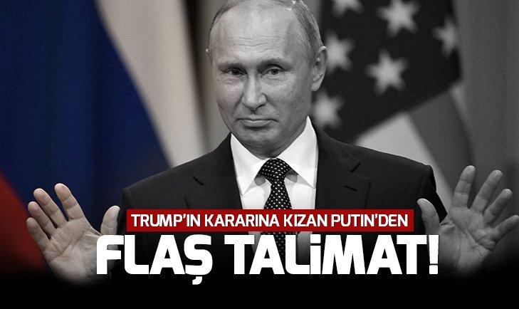 TRUMP'IN HAMLESİNE KIZAN PUTİN TALİMAT VERDİ!