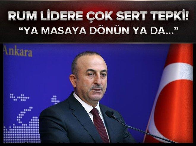 ANASTASİADİS'E İLK TEPKİ ÇAVUŞOĞLU'NDAN: KABUL EDİLEMEZ
