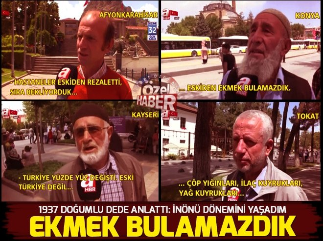 Eski Türkiye'de neler yaşandı? İşte yanıtı