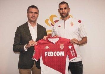 Islam Slimani resmen Monaco'da!
