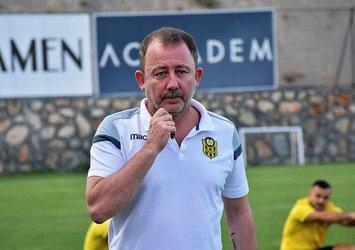 Sergen Yalçın'dan transfer müjdesi