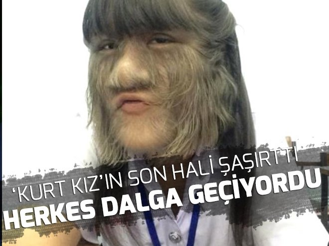 İŞTE 'KURT KIZ'IN SON HALİ