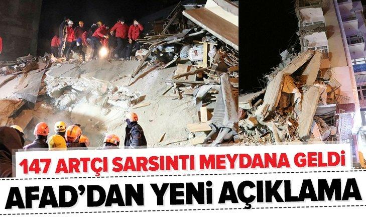 TOPLAM 147 ARTÇI DEPREM MEYDANA GELDİ