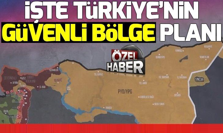GÜVENLİ BÖLGE PLANI HAZIR KONTROL TÜRKİYE'DE...