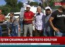 İBB önündeki işçilerin direnişi 13.gününde   Video