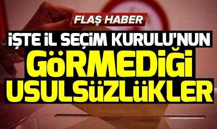 AK Parti'nin İstanbul'daki usulsüzlükler için hazırladığı 44 sayfalık dilekçe