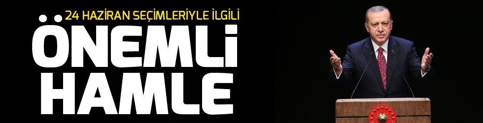 Cumhurbaşkanı Erdoğan'dan milletvekilliği aday listesinde İstanbul için özel çalışma