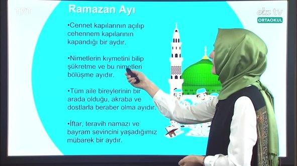 7. Sınıf Din Kültürü Ve Ahlak Bilgisi Konu: Hz. Muhammed'in Hayatı