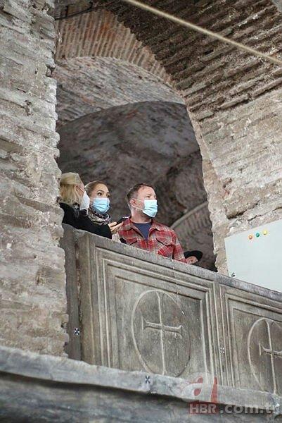 Ünlü yönetmen Guy Ritchie'den Ayasofya Camii ve Topkapı Sarayı'na ziyaret