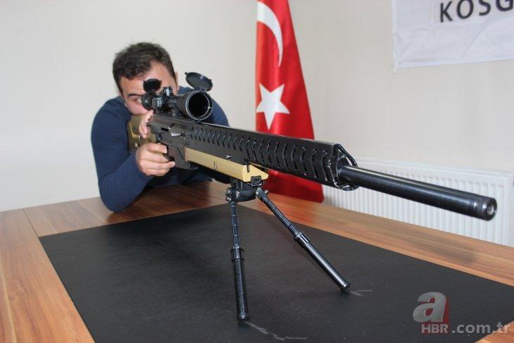 Başkan Erdoğan'ın direktifleriyle yerli 'sniper' üretildi! İşte özellikleri
