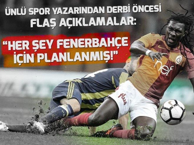 Derbi öncesi flaş iddia: Her şey Fenerbahçe için ayarlanmış