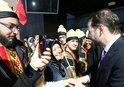 HAZİNE VE MALİYE BAKANI BERAT ALBAYRAK'A GAZİANTEP'TE SEVGİ SELİ
