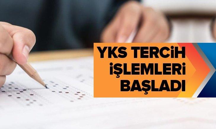 2019 YKS TERCİH İŞLEMLERİ BAŞLADI!