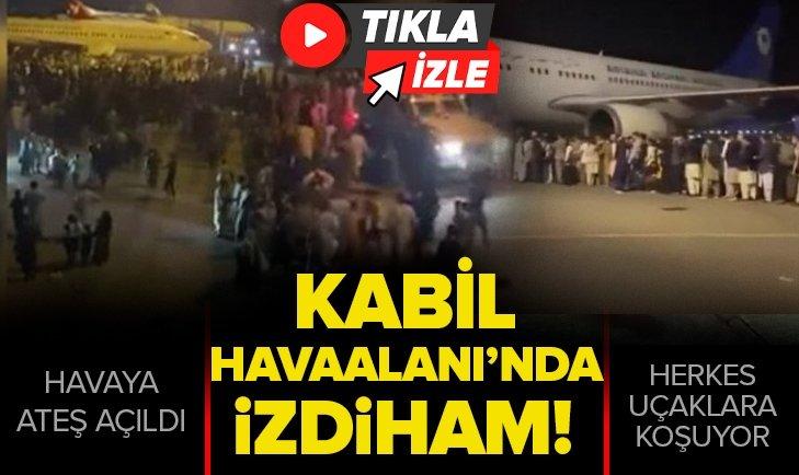 Kabil Havaalanı'nda izdiham: Taliban'ın şehri almasının ardından yaşanan tahliyelerde ortalık karıştı
