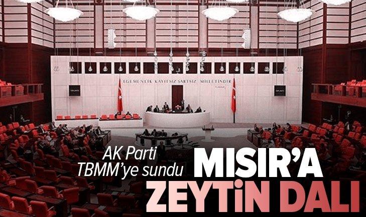 Son dakika: AK Parti TBMM'ye sundu! Dikkat çeken 'Mısır' teklifi