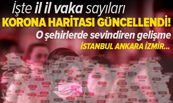 24-30 Nisan illere göre 100 bin kişide görülen Kovid-19 vaka sayıları | Sağlık Bakanlığı duyurdu! İstanbul Ankara ve İzmir'de vakalarda son durum