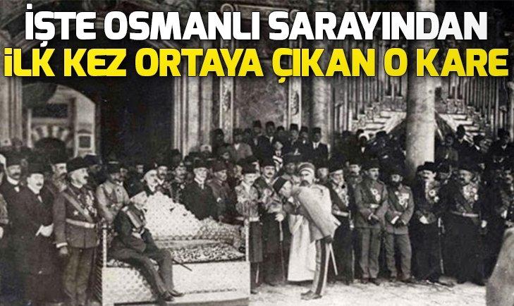 OSMANLI SARAYINDAN İLK KEZ ÇIKAN FOTOĞRAFLAR!