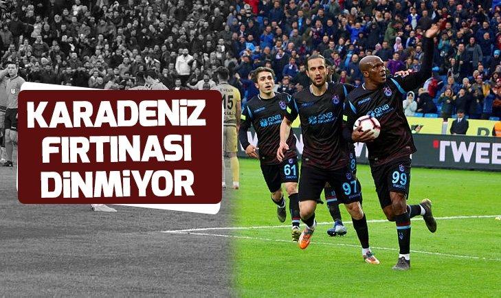 KARADENİZ FIRTINASI DİNMİYOR!