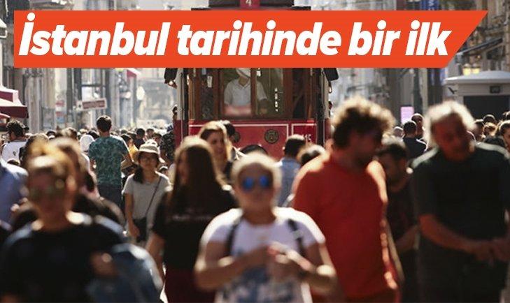 İSTANBUL'UN TARİHİNDE BİR İLK!
