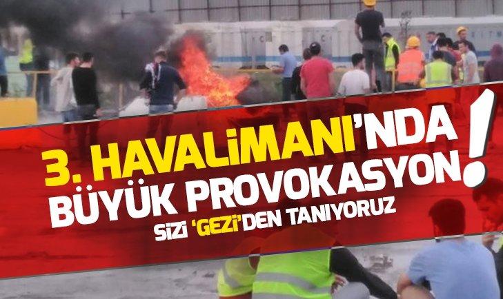 3. HAVALİMANI'NDA BÜYÜK PROVOKASYON! (İSTANBUL YENİ HAVALİMA'NI)