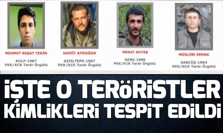 Gri listeden 4 terörist öldürüldü
