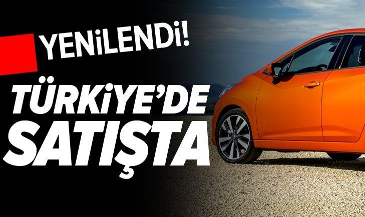 YENİLENDİ! TÜRKİYE'DE SATIŞTA...