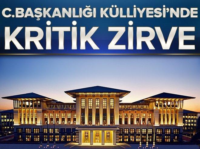 CUMHURBAŞKANI ERDOĞAN, YILDIRIM'I KABUL EDİYOR