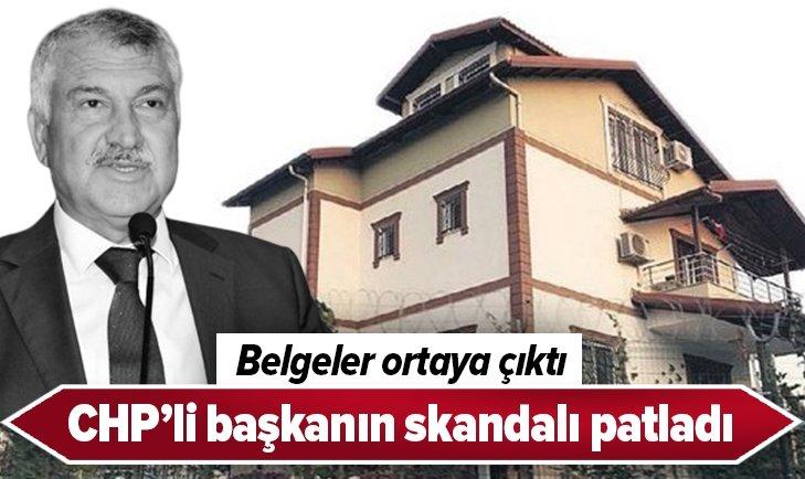 CHP'Lİ BAŞKANDAN SKANDAL! BELGELER ORTAYA ÇIKTI