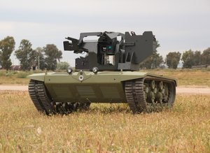 Silahlı insansız mini tank TSK envanterine giriyor!