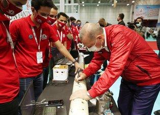 Başkan Erdoğan TEKNOFEST'te! Geleceğin savunma teknolojilerine imzasını attı