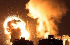 İsrail Filistin İçişleri Bakanlığı binasını vurdu